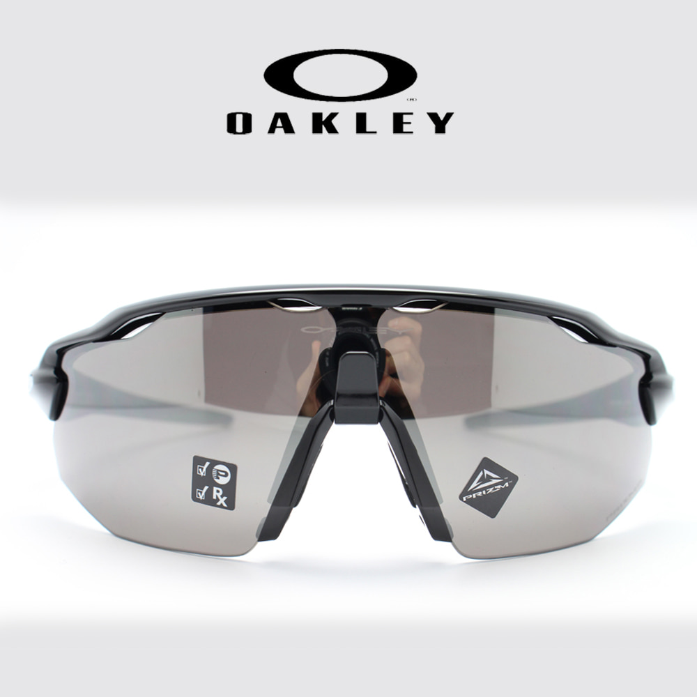 오클리 레이다EV 어드밴서 OO9442-0838 Polished Black/Prizm Black Polarized
